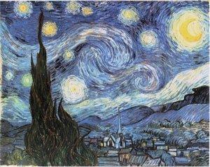 """O famoso """"Noite Estrelada"""""""
