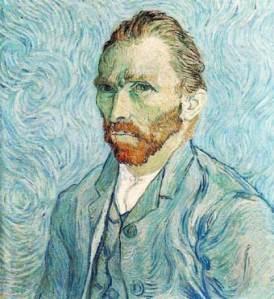 Auto retrato de Van Gogh