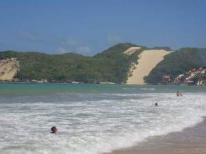 Praia Ponta Negra - by Cleide Sousa