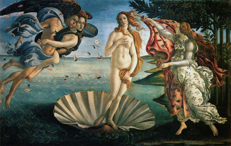 O Nascimento de Vênus  - Sandro Botticelli - 1483
