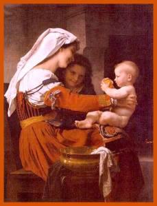 Admiração Maternal - Bouguereau
