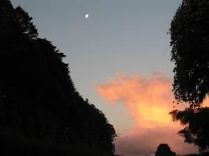 Entardecer em Gramado - por Cleide Sousa