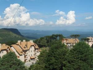 Vista do Vale do Quilombo - Gramado, RS - por Cleide Sousa