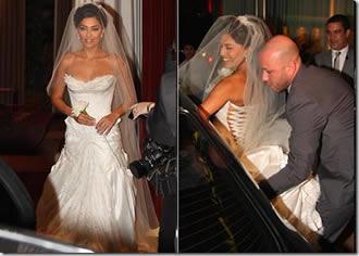 Juliana Paes foi a noiva mais bonita de 2008