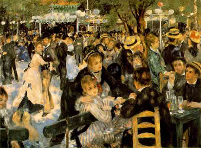 Le Moulin de La Gallete - 1876