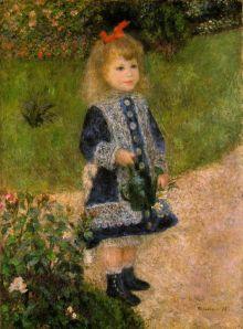 Renoir foi contratado para pintar crianças de várias familias abastadas, por volta da década de 70 do Séc. XIX, devido à sua sensibilidade para criar tais obras.