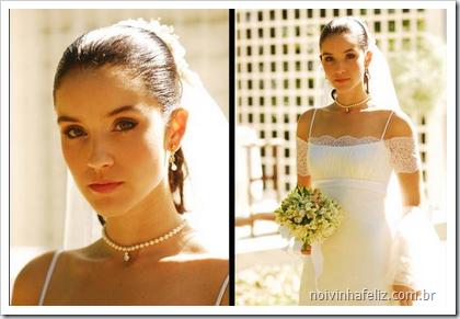 Esse vestido foi de uma novela da Globo, particularmente adoro vestidos românticos como esse.