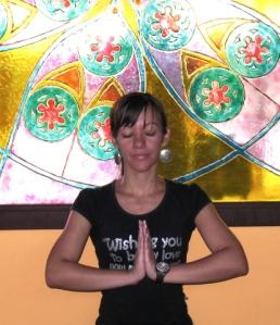 E muita yoga e meditação...