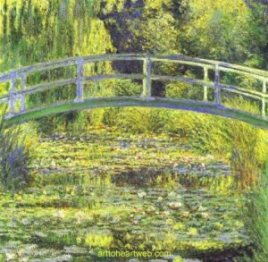 Jardim japonês de Monet - original