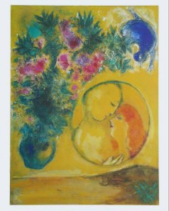 Sun and Mimosas - Chagall