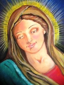 Nossa Senhora, por Cleide Sousa