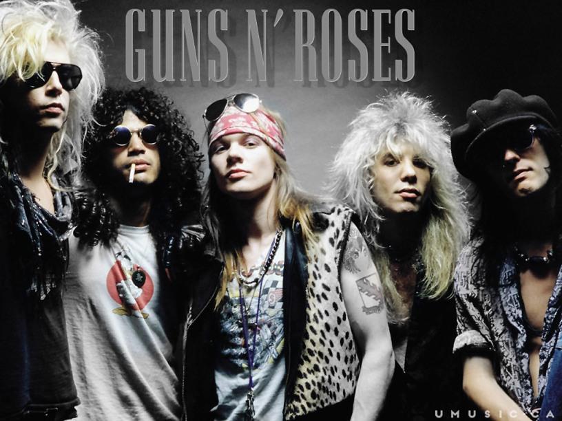 Ingressos Do Show De Guns N Roses Em Fortaleza Variam: Confirmado Show Do Guns N' Roses No Dia 17 De Abril No