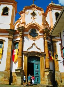 Entrada da Igreja Nossa Senhora do Pilar