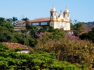 Matriz de Santo Antônio vista da Igreja de São Francisco de Paula, uma das mais belas vistas de Tiradentes