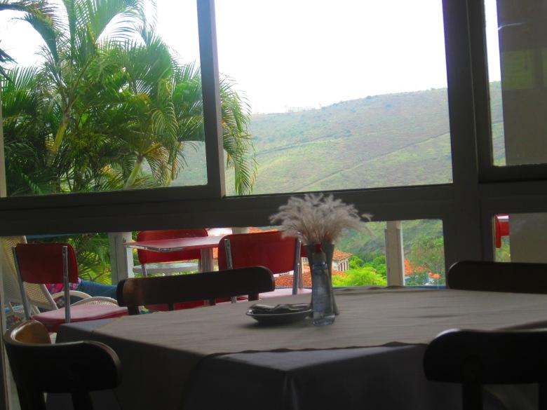 Vista do Restaurante do Grande Hotel