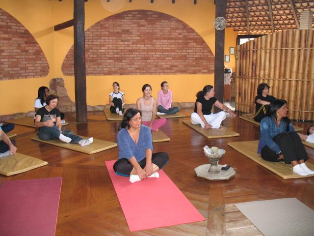 Prana Lorien - Sala de Yoga
